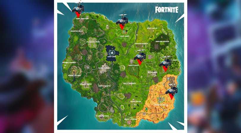 Desafíos Semana 10 Fortnite