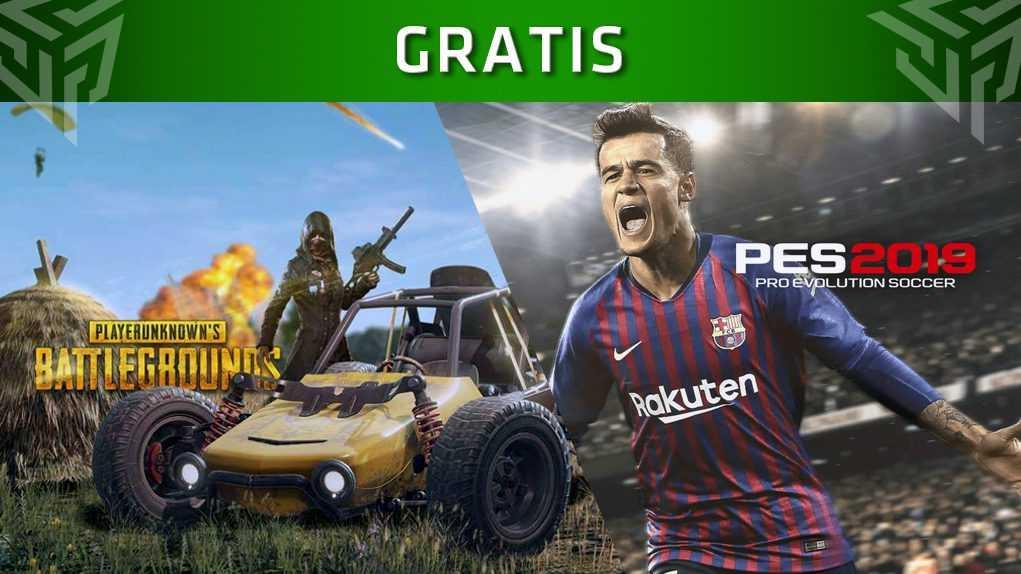 PES 2019 PUBG gratis Xbox One