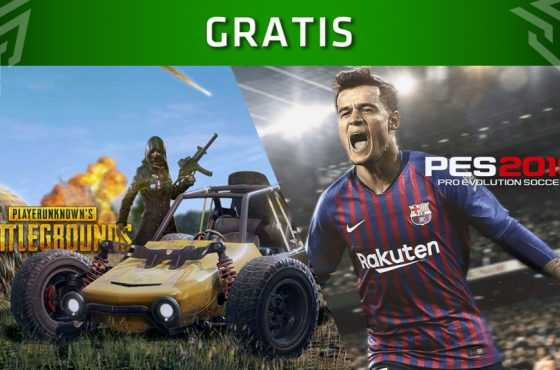 PlayerUnknown's Battlegrounds y Pro Evolution Soccer 2019 gratis en Xbox One