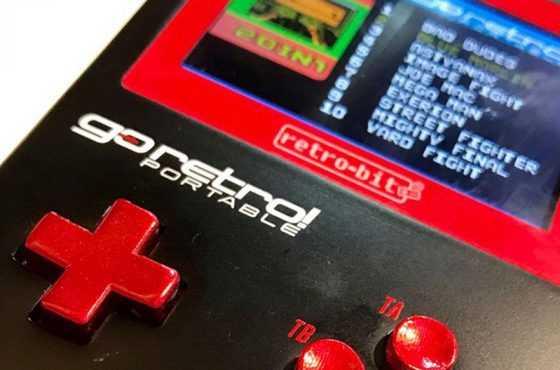 Retro-Bit anuncia GoRetro! – Más de 260 títulos clásicos en una consola portátil
