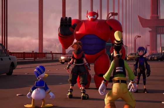 ¡Kingdom Hearts III lanza un nuevo tráiler con Big Hero 6!