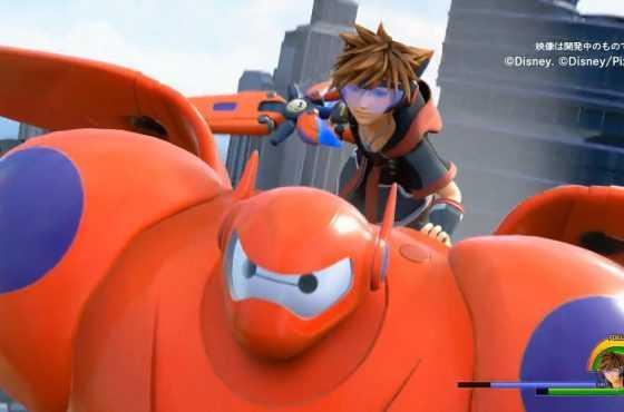 Kingdom Hearts III muestra un nuevo gameplay durante el Tokyo Game Show 2018