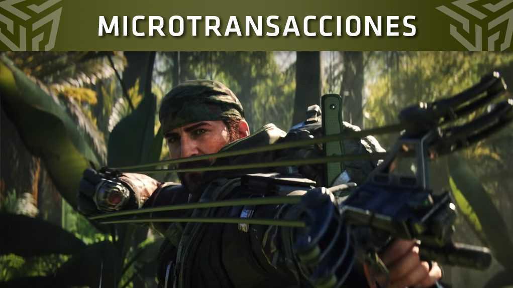 microtransacciones black ops 4