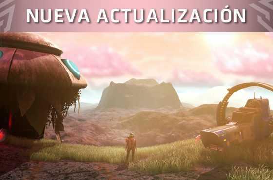 """Hello Games presenta la actualización """"Visions"""" para No Man's Sky"""