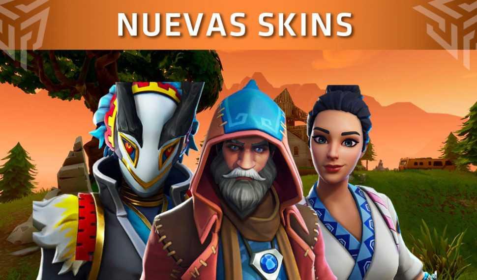 Fortnite presenta las nuevas skins que llegarán al juego (Actualización 6.30)