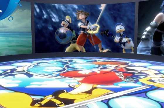 Playstation VR presenta su primera experiencia Kingdom Hearts