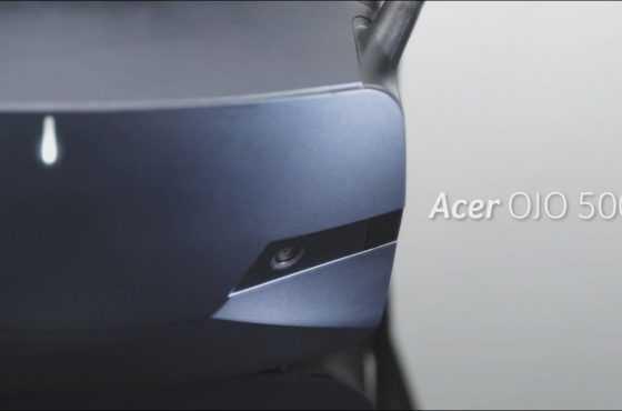 Presentado el nuevo visor de Realidad Mixta Acer OJO 500 con Windows Mixed Reality