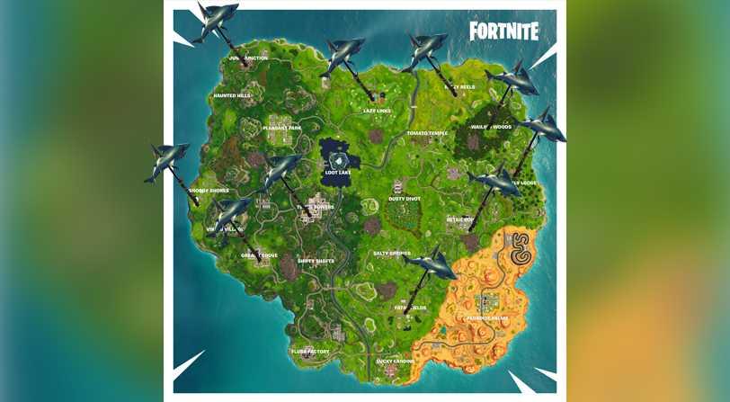 Desafíos Semana 8 Fortnite