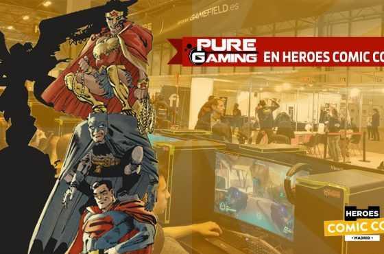 PureGaming estará en Heroes Comic Con Madrid 2018 – ¡Así serán nuestros torneos!