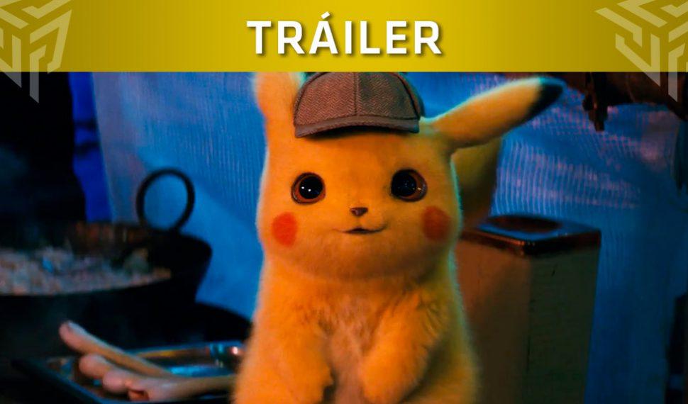 Primer tráiler de la película de Detective Pikachu