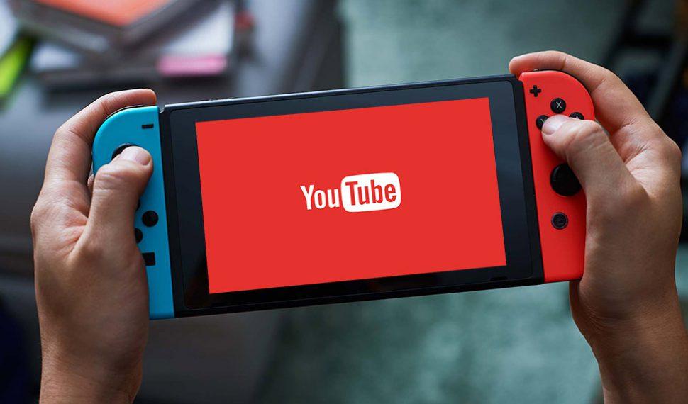 La aplicación de Youtube llega a Nintendo Switch