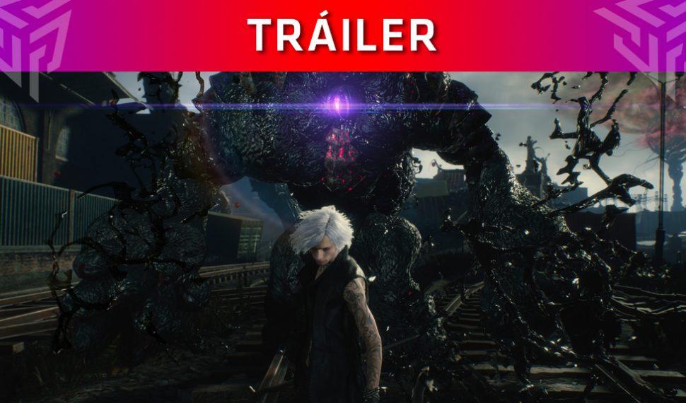 Capcom publica un tráiler de Devil May Cry 5 que muestra a 'V' en acción