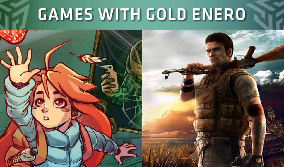 Xbox Live Gold: Juegos gratuitos del mes de enero