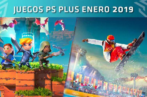 Juegos PlayStation Plus: Enero de 2019