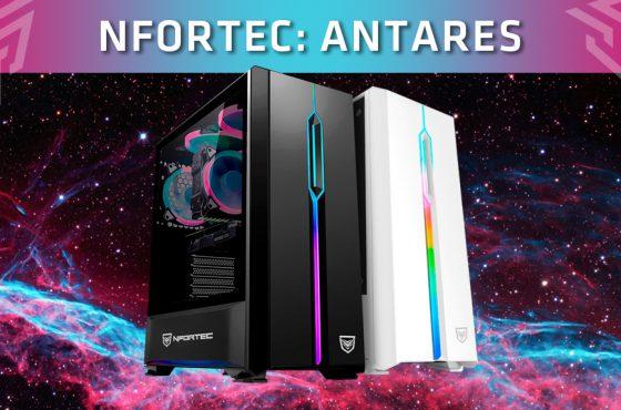 Nfortec anuncia el lanzamiento de su nueva caja gaming 'Antares'