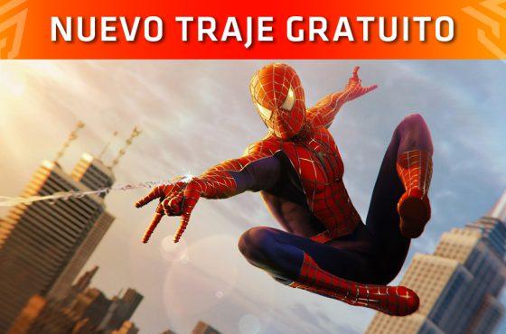 El traje de la película Spider-Man (2002) llega a Marvel's Spider-Man