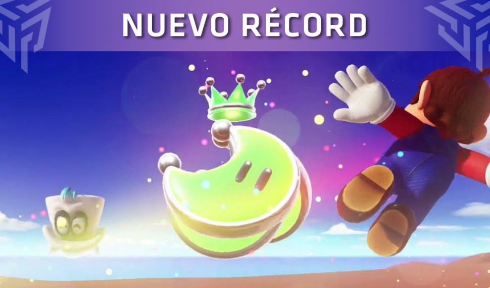 Super Mario Odyssey: Un jugador consigue todas las lunas en una carrera y sin recibir daño
