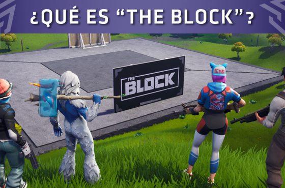 "Epic Games presentó la nueva zona de Fortnite: Battle Royale llamada ""The Block"""