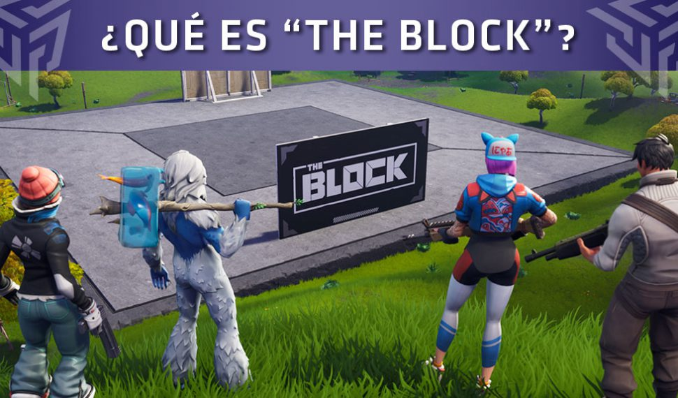 "Epic Games presentó la nueva zona de Fortnite: Battle Royale llamada ""The Block"""