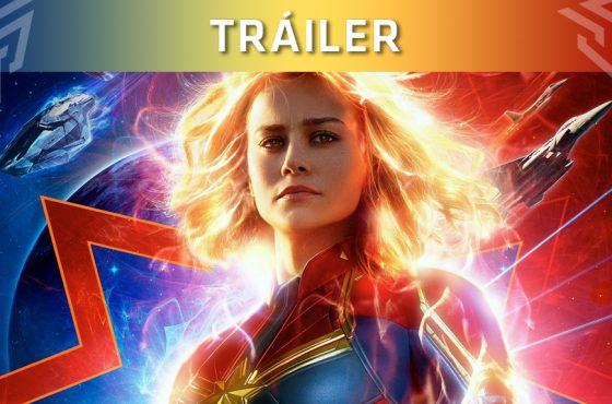 ¡Nuevo tráiler y póster de la película de Capitana Marvel!