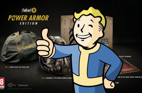 Bethesda comienza a entregar las mochilas prometidas en la Power Armor Edition