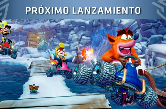 Se presenta Crash Team Racing Nitro-Fueled en los Game Awards