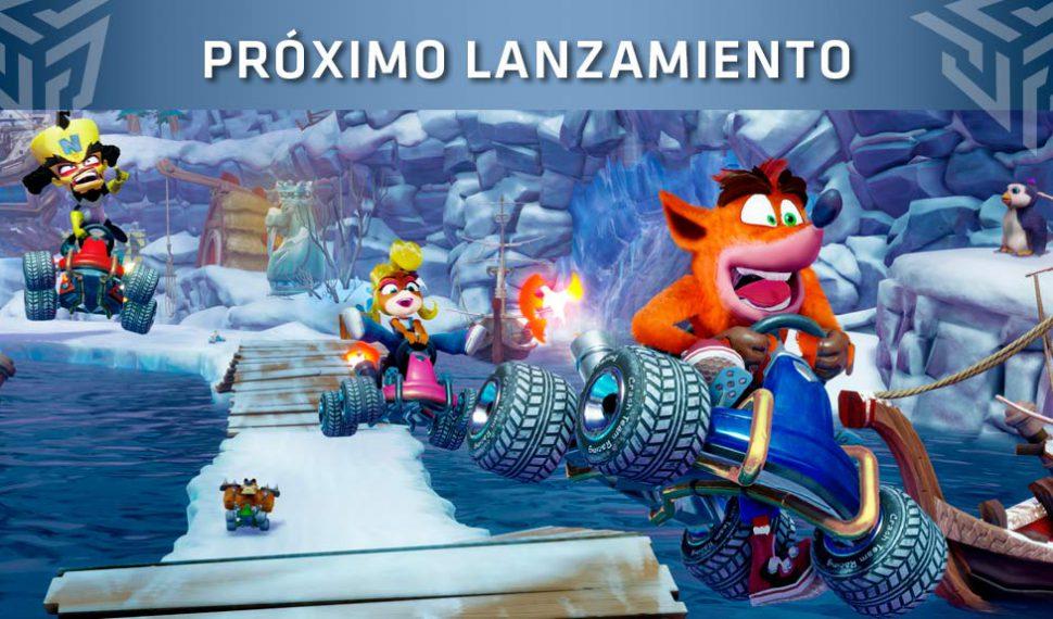 Se presenta Crash Team Racing Nitro-Fueled en los Game Awards