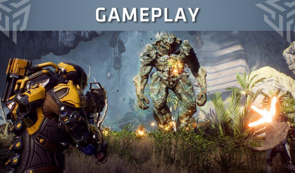 Anthem publica un gameplay de 50 minutos