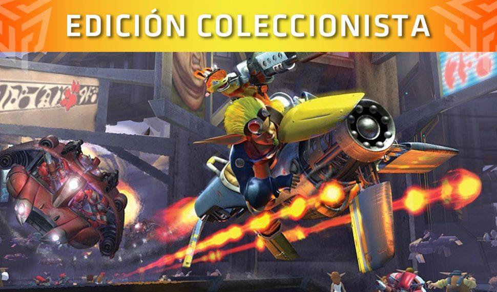 Esta es la edición coleccionista de Jak II que llegará muy pronto de forma limitada
