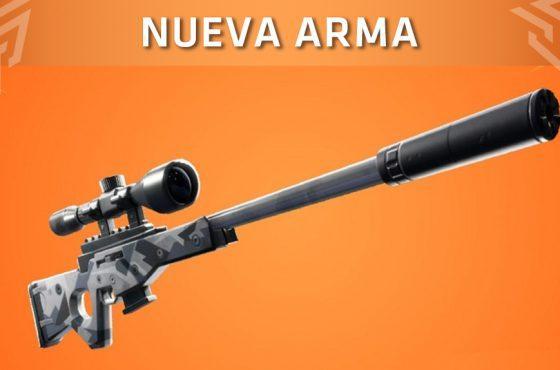 Fortnite: Battle Royale anuncia el nuevo arma que llegará al juego