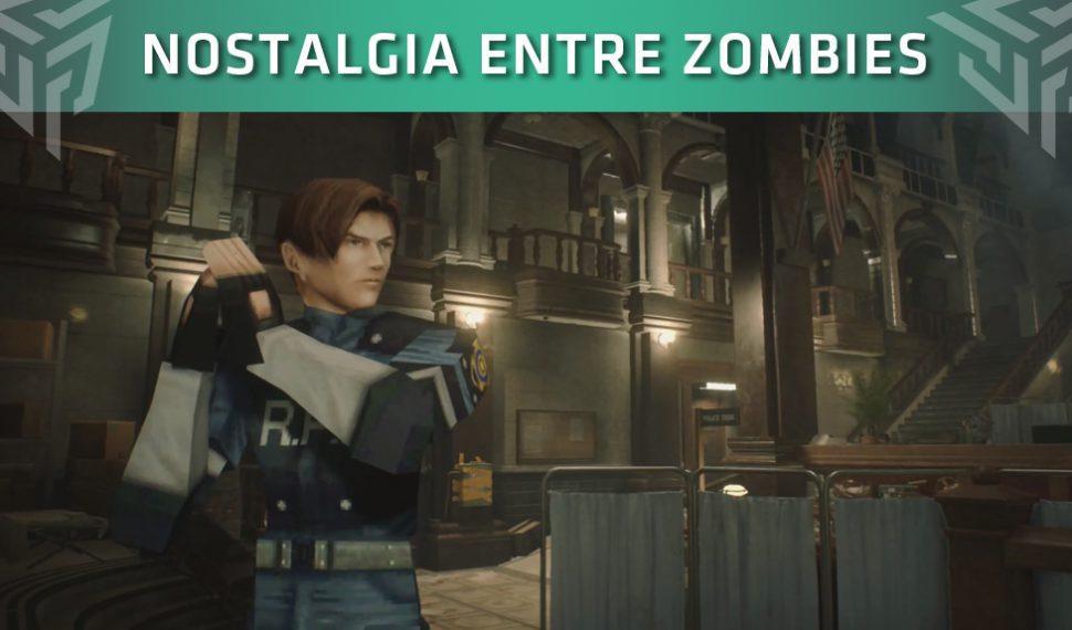 Resident Evil 2 Remake contará con modelados y texturas del título original