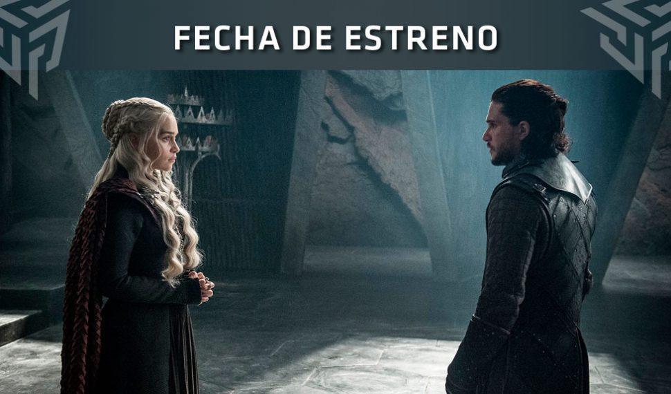 Juego de Tronos: Ya conocemos la fecha de estreno de la última temporada