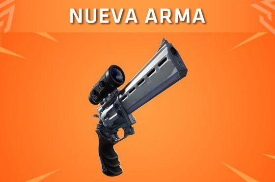 Una nueva arma llegará al arsenal de Fortnite: Battle Royale próximamente