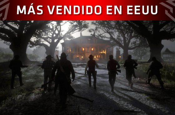 Red Dead Redemption 2 se impone como el juego más vendido de 2018 en Estados Unidos