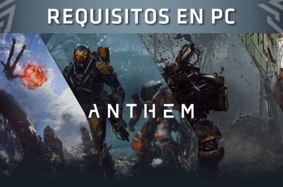 ¡Ya conocemos los requisitos mínimos y recomendados de Anthem en PC!