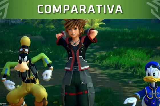 Comparan Kingdom Hearts III en todas las plataformas