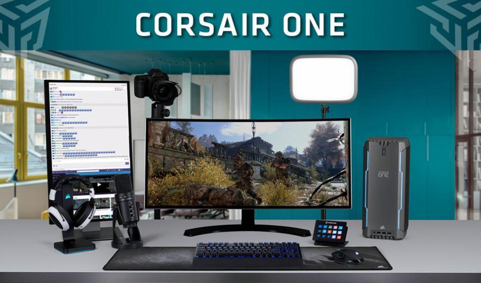Corsair presenta el One Pro i180: La estación de trabajo compacta