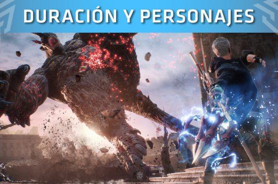 Devil May Cry 5: Personajes y duración del videojuego