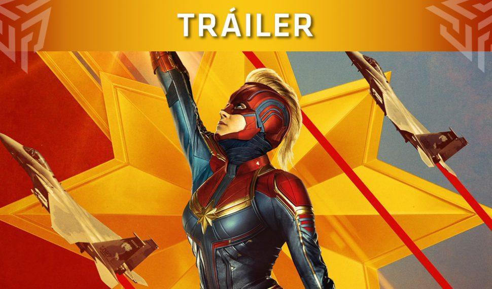 ¡Así de increíble luce Capitana Marvel en su nuevo tráiler!