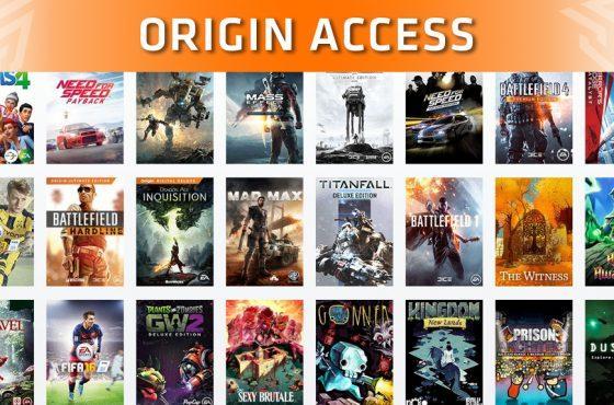 Estos son los nuevos juegos que llegarán a The Vault de Origin Access