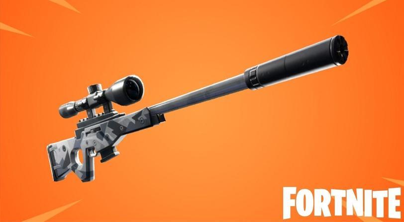 fusil de tirador silenciado fortnite