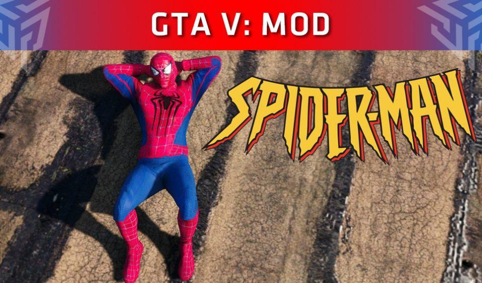 Spider-Man en las calles de Los Santos gracias a un mod para GTA V
