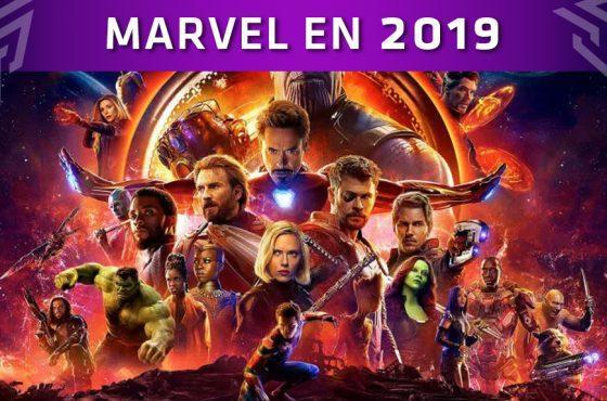 Estas son las películas y series de Marvel que llegarán en 2019