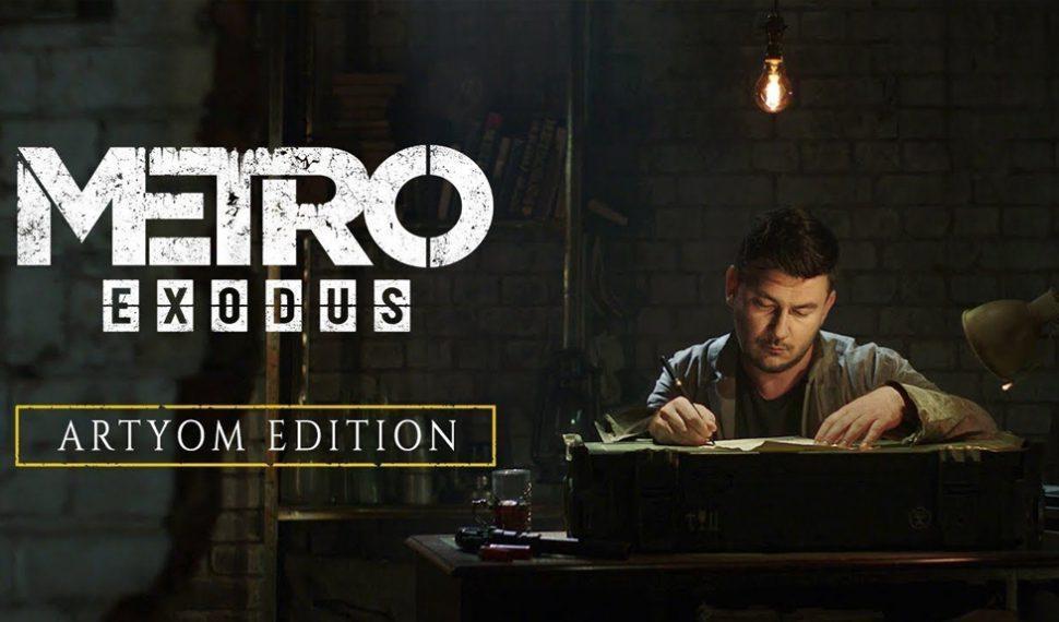 Metro Exodus presenta la edición personalizada 'Metro Exodus Artyom'