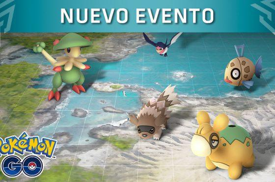 Pokémon GO anuncia un nuevo evento basado en la región de Hoenn