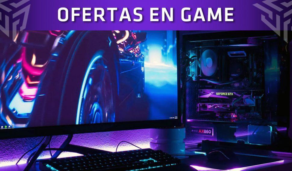 Estas son las ofertas temporales en PC gaming de GAME