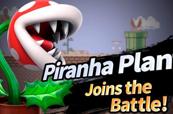 Planta Piraña ya disponible en Super Smash Bros. Ultimate
