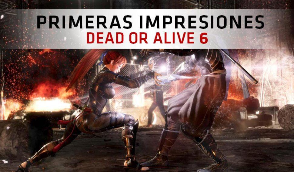 Primeras Impresiones Dead or Alive 6