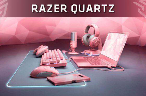 Razer presenta Quartz, su nueva línea de productos de color rosa