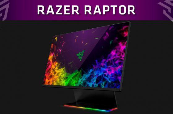 Razer presenta Raptor, su nuevo monitor de 27 pulgadas